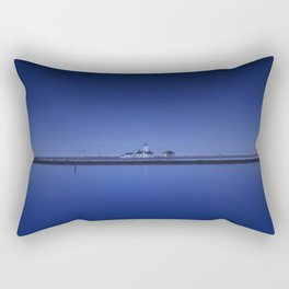 Dungeness Spit Lighthouse. Rectangular Pillow