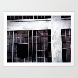 Rust Belt series - Windows Art Print