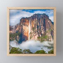 Angel Falls, Venezuela Framed Mini Art Print
