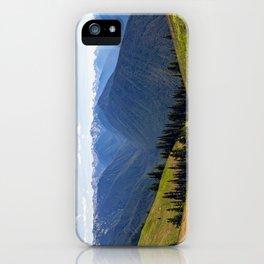 Hurricane Ridge Pano iPhone Case