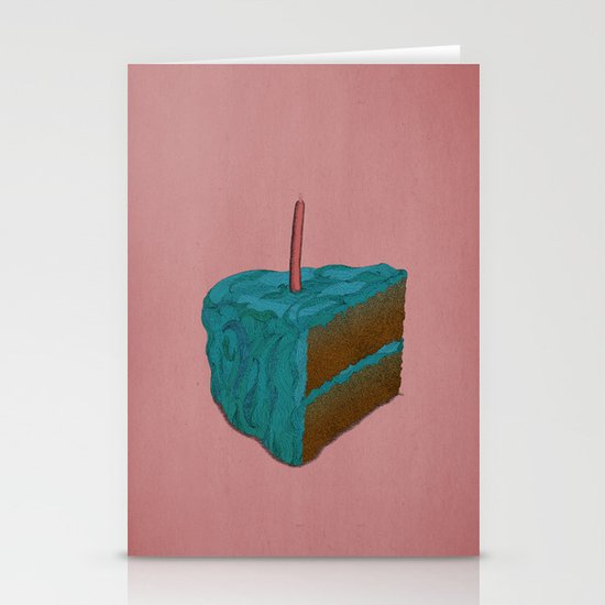 Happy Birthday! (blue) Stationery Cards