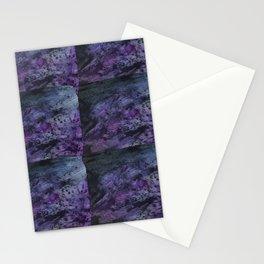 Purple on purple Stationery Cards