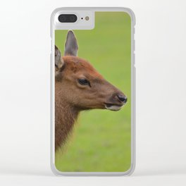 Baby Elk Clear iPhone Case