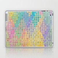 Colorful diamond hole punch Laptop & iPad Skin