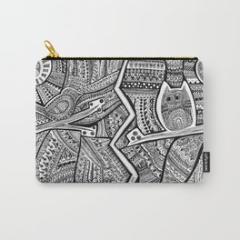 Passing By Day and Night Carry-All Pouch