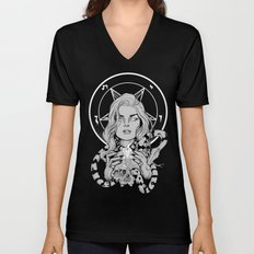 Black Mass Ritual Unisex V-Neck