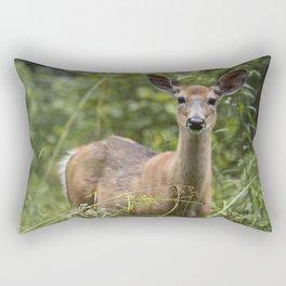Wandering Deer Rectangular Pillow
