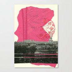 c´est la vie en paris Canvas Print