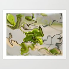 Amazonite - Abstract Art Print
