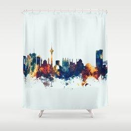 Tehran Iran Skyline Shower Curtain