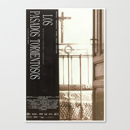 LOS PASADOS TORMENTOSOS Canvas Print
