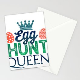 Eater Egg Hunt Easter Christian Holiday Stationery Cards