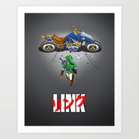Linkira Art Print