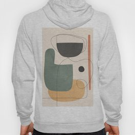 Abstract Minimal Shapes 25 Hoody
