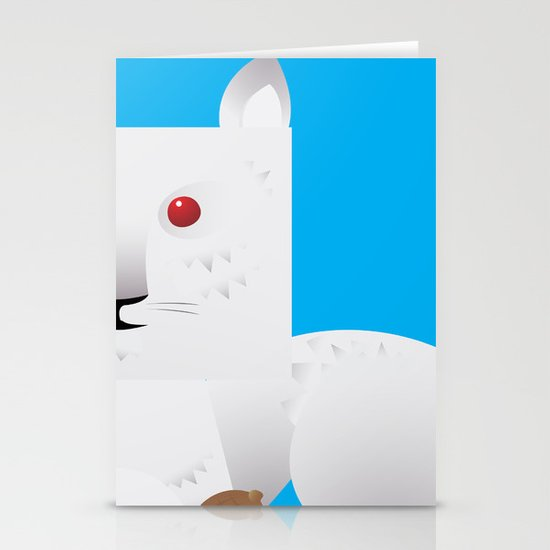 Cute Squirrel Stationery Cards