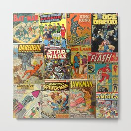 Comics Metal Print
