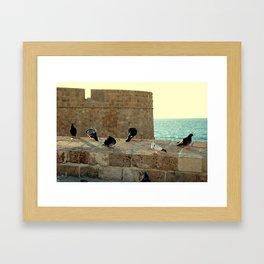 Old City Acre Framed Art Print