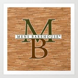 Mens Barehouse Wood Edition Art Print