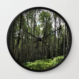 Among the Trees Wall Clock