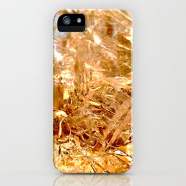 macro abstract of the surface of a quartz rock iPhone Case