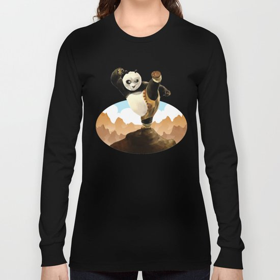 KUNG FU PANDA Long Sleeve T-shirt