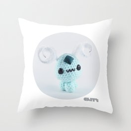 Amigurumi Throw Pillow