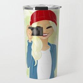 Say Cheese Travel Mug