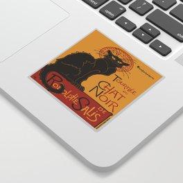 Tournee du Chat Noir De Rodolphe Salis Vector Sticker