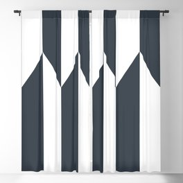 Navy arrows Blackout Curtain
