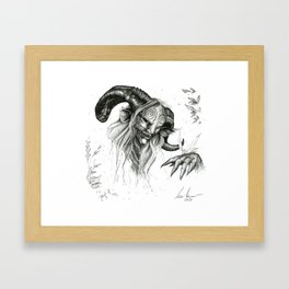 Faun Framed Art Print