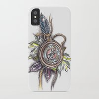 compass iPhone & iPod Cases featuring Compass by byfgal