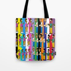 A Discussion Between Professors Tote Bag