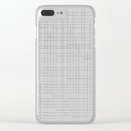 Twists Clear iPhone Case