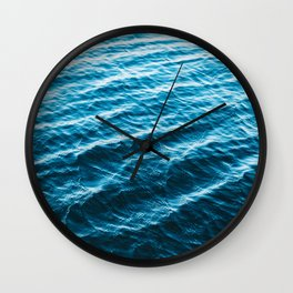 Wanderful Waves Wall Clock