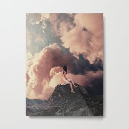 You came from the Clouds Metal Print