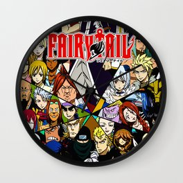 Fairy Tail Wall Clock