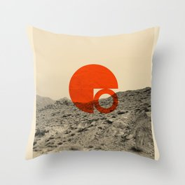 Symbol of Chaos Invert version Throw Pillow