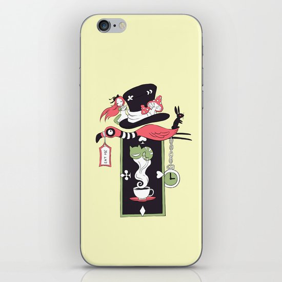 Alice Banner iPhone & iPod Skin