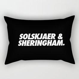 MUFC duo_ SOLSKJAER & SHERINGHAM Rectangular Pillow
