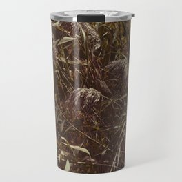 Brown grass Travel Mug