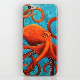 Holding On - Octopus iPhone Skin