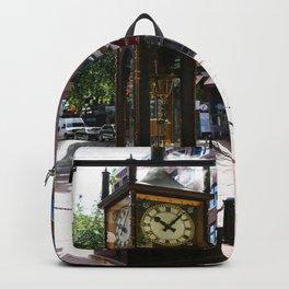 Gastown Steam Clock - Vancouver Backpack