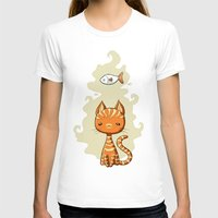 ginger T-shirts featuring Ginger Cat by Freeminds