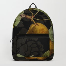 Damask Lerain Pear Backpack