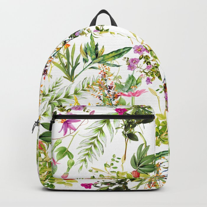 Mix Flowers Backpack