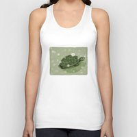 turtle Tank Tops featuring Turtle by David Owen Breeding