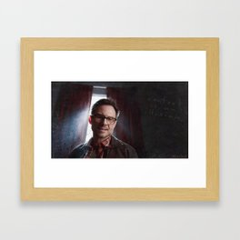 Control Is An Illusion - F Society - Mr Robot Framed Art Print