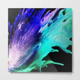 Wax#1 Metal Print