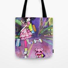 Harajuku Girl Tote Bag