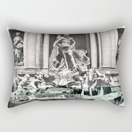 Trevi Fountain Rome Italy Rectangular Pillow